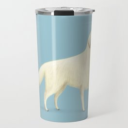 Golden Retriever Portrait Travel Mug