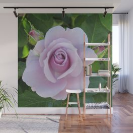 Bloom and Buds Paling to Purple Wall Mural