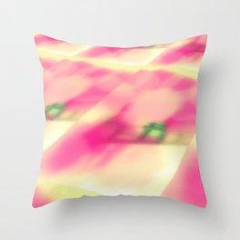 Cotton Candy Landscape Throw Pillow