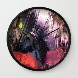 Glass Pane Wall Clock