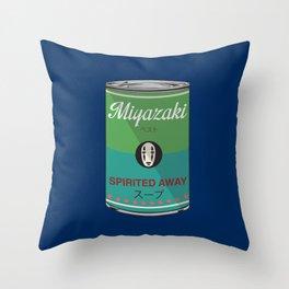 Spirited Away - Miyazaki - Special Soup Series  Throw Pillow