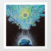 Healing Intentions Art Print