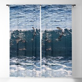 Body Surfing Blackout Curtain
