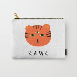 tiger says rawr! Carry-All Pouch