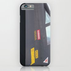 Black Bird SR-71 Spy Plane, Cockpit iPhone 6s Slim Case