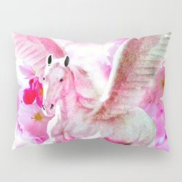 HORSE PINK FANTASY CHERRY BLOSSOMS Pillow Sham