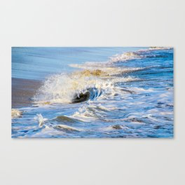 Foamy Wave Canvas Print