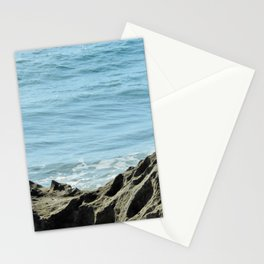 rocks at Santa lucia beach Stationery Cards