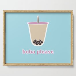 boba please Serving Tray