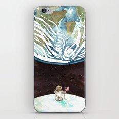 Bear on the Moon iPhone & iPod Skin