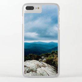 Blue Ridge Mountain Song Clear iPhone Case