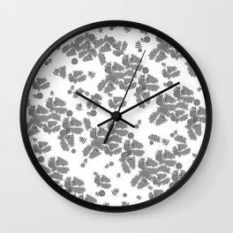 Marigold Light Gray Wall Clock