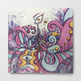 Hallucinations and Psychedelic Metal Print