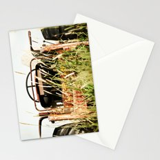 Overgrown Tractor Stationery Cards