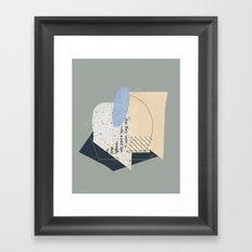 Hurdles Framed Art Print