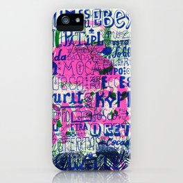 Ecce Gosta iPhone Case