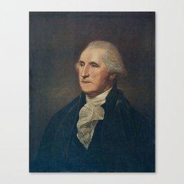 GEORGE WASHINGTON INK Canvas Print