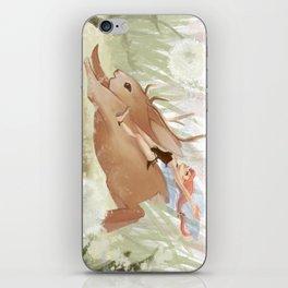 Frolicking iPhone Skin