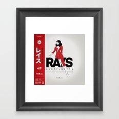 Rays - Variant Framed Art Print