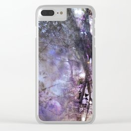 Hoar glass Clear iPhone Case