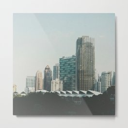 The Buildings Metal Print