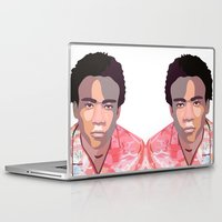 childish gambino Laptop & iPad Skins featuring Childish by Grace Teaney Art