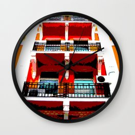 HOTEL BELVIDA Wall Clock