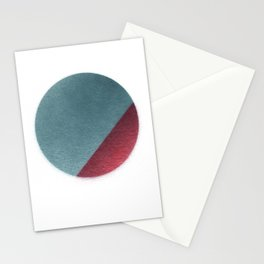 Spraypainted Circle 1 Stationery Cards