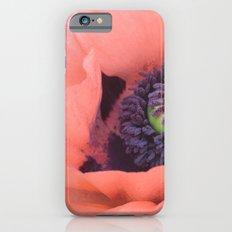 Pink Poppy Slim Case iPhone 6s