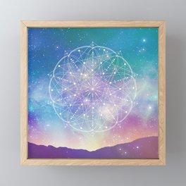 Sacred Geometry (Interconnected) Framed Mini Art Print