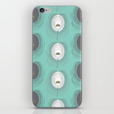 blue feathers iPhone & iPod Skin