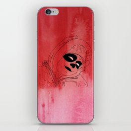 Red Shepherd Rides Through The Red iPhone Skin