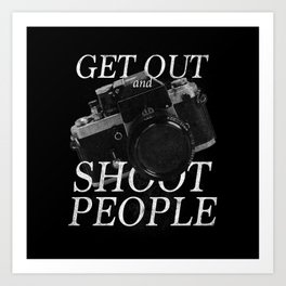 Photography Puns Art Print