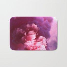 Pink Puff Cloud (Color) Bath Mat