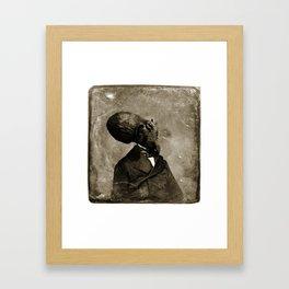 Cthulhu, 1843 Framed Art Print