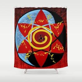 Naruto seal Shower Curtain