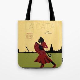 La Gata De Sevilla Tote Bag