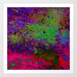 Random Colors Art Print