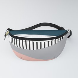 Colorful waves design Fanny Pack