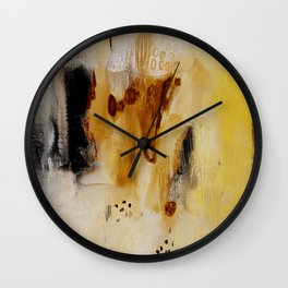 Abstract study on paper  Wall Clock