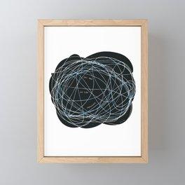 My 2AM thoughts Framed Mini Art Print