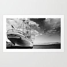 Marine. Baltic Sea. Art Print
