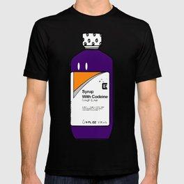 Codeine Bottle Cartoon T-shirt