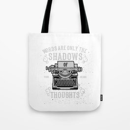 Shadows Of Thoughts Tote Bag