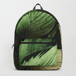 Vintage Japanese Hosta Backpack