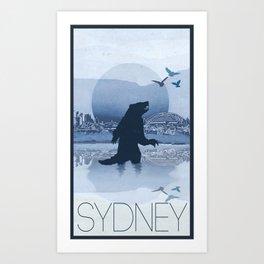 Every City Has Its Creature - Sydney Art Print