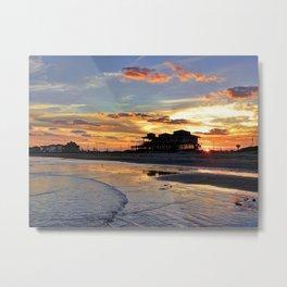 Galveston Island Metal Print