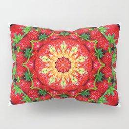 Strawberry season mandala k3 1158 Pillow Sham