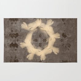 The circle of life Rug
