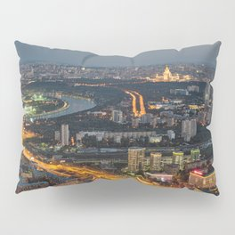 Moscow Cityscape Pillow Sham